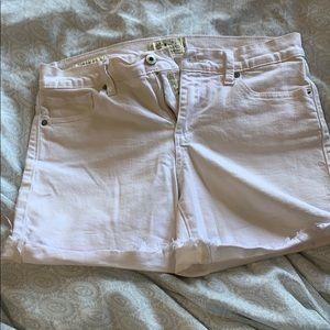 Lucky Brand | White Jean Denim Shorts